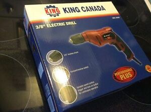 King Electric Drill - New In Box