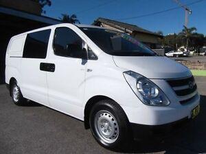 2011 Hyundai iLOAD TQ MY11 White 5 Speed Automatic Van Homebush Strathfield Area Preview