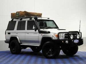 2016 Toyota Landcruiser VDJ76R MY12 Update GXL (4x4) Silver 5 Speed Manual Wagon Jandakot Cockburn Area Preview
