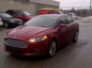 2014 Ford Fusion SE - All Wheel Drive, Nav, Loaded