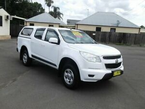 2015 Holden Colorado RG MY15 LS (4x2) White 6 Speed Automatic Crew Cab Pickup North Richmond Hawkesbury Area Preview
