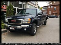 2006 GMC Sierra 3500HD 3500 RARE* 6L* CREW CAB* LONG BOX* ACC FR