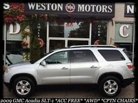 2009 GMC Acadia SLT-1*AWD*SUNROOF*LEATHER*BAD CREDIT APPROVED!