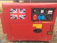 19.5 KVA diesel Lister generator key start