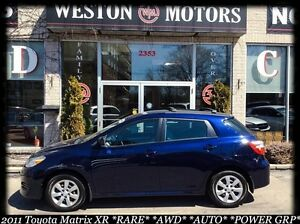 2011 Toyota Matrix RARE XR*AWD*AUTO*BLUETOOTH*BUY HERE-PAY HERE!