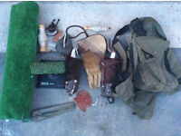 falconry accessories/digital scales etc