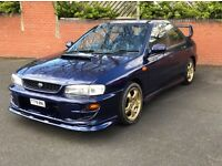 Subaru Impreza Turbo uk. 260 BHP Tax & Mot FSH May PX or Swap