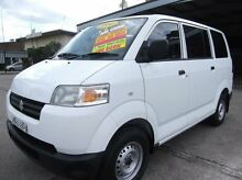 2006 Suzuki APV GD MY06 Upgrade White 5 Speed Manual Van Homebush Strathfield Area Preview