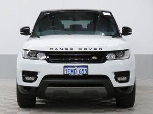 2014 Land Rover Range Rover LW Sport 3.0 SDV6 SE White 8 Speed Automatic Wagon Jandakot Cockburn Area Preview