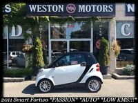 2011 Smart fortwo PASSION* AUTO* LOW KMS!!!* FULLY LOADED