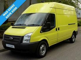 61(11) FORD TRANSIT 350 LWB HIGH ROOF 2.2 FWD 125 BHP EURO 5 HIGH SPEC