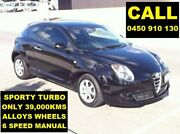 2014 Alfa Romeo Mito Series 2 Alfa Black 6 Speed Manual Hatchback Ellenbrook Swan Area Preview