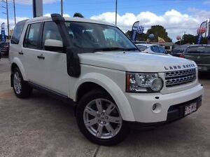 2010 Land Rover Discovery 4 Series 4 10MY TdV6 CommandShift SE White 6 Speed Sports Automatic Wagon Currimundi Caloundra Area Preview