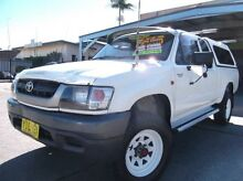 2002 Toyota Hilux LN172R (4x4) White 5 Speed Manual 4x4 Extracab Homebush Strathfield Area Preview