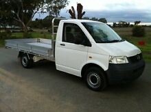 2008 Volkswagen Transporter 109,000KMS T5 MY08 TRUCK White 5 Speed Manual Single Cab Chassis Pearsall Wanneroo Area Preview