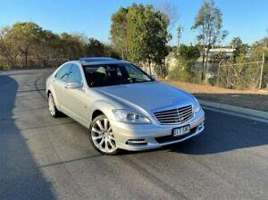 2012 Mercedes-Benz S-Class W221 MY11 S350 BlueTEC 7G-Tronic + Silver 7 Speed Sports Automatic Sedan