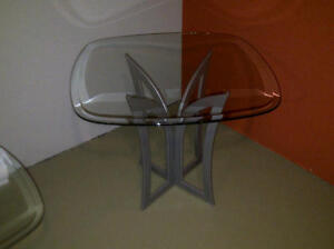Glass Coffee Tables and matching end table