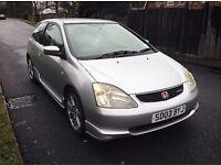 2003**Honda*Civic*Type-R*117K*Miles*£1495