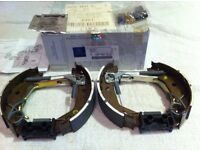 Genuine Mercedes 'A' Class New Rear Brake Shoes complete for both sides