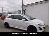 VAUXHALL CORSA 1.2 LIMITED EDITION 3d 83 BHP (white) 2012