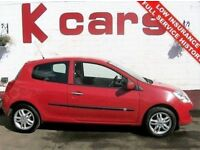 FINANCE FROM £19 PER WEEK NO DEPOSIT * RENAULT CLIO 1.1 EXPRESSION LOW INSURANCE GREAT FIRST CAR