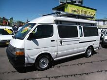 1998 Toyota Hiace RZH125R Commuter White 5 Speed Manual Bus Homebush Strathfield Area Preview