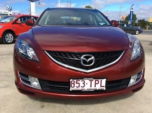 2008 Mazda 6 GH1051 Classic Copper Red 5 Speed Sports Automatic Hatchback Currimundi Caloundra Area Preview