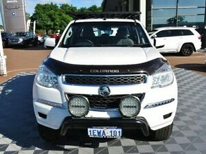 2015 Holden Colorado RG MY15 LS Crew Cab White 6 Speed Manual Utility Alfred Cove Melville Area Preview