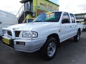 2003 Mazda B2500 Bravo DX White 5 Speed Manual Cab Chassis Homebush Strathfield Area Preview