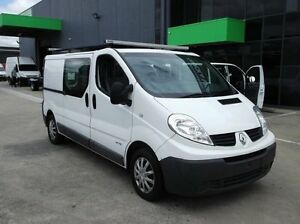 2013 Renault Trafic L2H1 MY11 2.0 DCI LWB White 6 Speed Manual Van Preston Darebin Area Preview