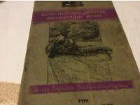 Grey Ferguson Agricultural Mower Instruction Book £25