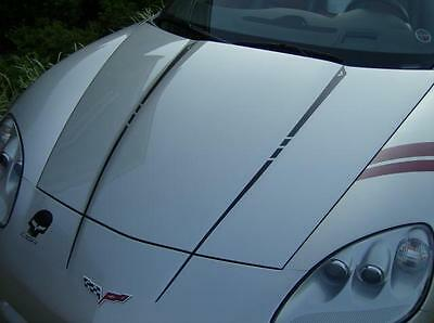 C6 Corvette 2005 13 Hood   Deck Stripes Graphics Decal Package