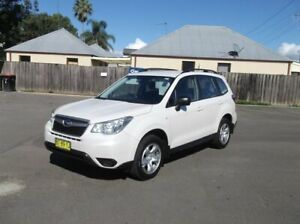2013 Subaru Forester MY13 2.5I Pearl White Continuous Variable Wagon North Richmond Hawkesbury Area Preview