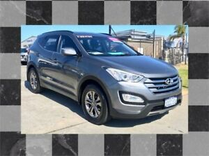 2012 Hyundai Santa Fe DM Active (4x4) Grey 6 Speed Automatic Wagon