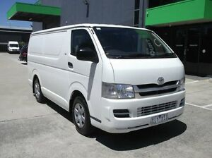 2009 Toyota Hiace TRH201R MY07 Upgrade LWB White 5 Speed Manual Van Preston Darebin Area Preview