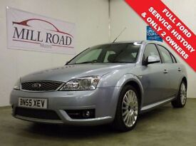 FORD MONDEO 2.2 ST TDCI 5d 155 BHP ***YOUTUBE VIDEO OF THIS CA (silver) 2005