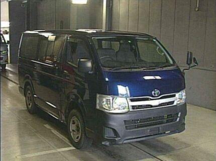 2012 Toyota Hiace Dual Rear Door Window 4WD LWB Blue Automatic Van