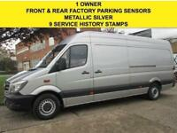 2014 14 MERCEDES-BENZ SPRINTER 2.1 313CDI LWB HIGH ROOF 129 BHP. PARKING SENSORS