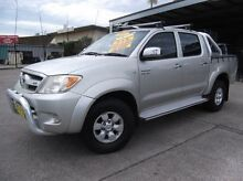 2005 Toyota Hilux GGN25R SR5 (4x4) Silver 5 Speed Automatic Dual Cab Pick-up Homebush Strathfield Area Preview