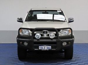 2008 Toyota Hilux GGN25R 08 Upgrade SR5 (4x4) Silver 5 Speed Manual Dual Cab Pick-up Jandakot Cockburn Area Preview