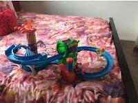 Playskool Marvel Spider-Man Adventures Web Racing Funhouse Playset