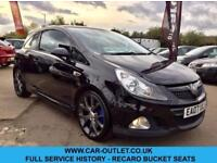 2007 VAUXHALL CORSA VXR 1.6 TURBO 3DR 192BHP-FSH-RECARO-LEATHER