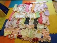 baby girls clothes bundle 0-6month £70