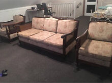 Jarvy Lounge - 3 seater and 2 arm chairs Hunters Hill Hunters Hill Area Preview