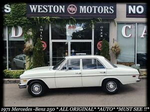 1971 Mercedes-Benz C250 ALL ORIGINAL*AUTO*FINANCE HERE!