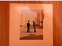 Pink Floyd Wish You Were Here Uk First Press 1975 Vinyl LP
