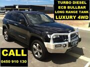 2014 Jeep Grand Cherokee WK MY14 Limited (4x4) Brilliant Black 8 Speed Automatic Wagon Ellenbrook Swan Area Preview
