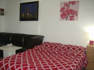 PRIVATE-apartments NO SHARING@WiFi cable Tv all inclus.montreal