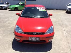2003 Ford Focus LR MY2003 CL Red 4 Speed Automatic Hatchback Buderim Maroochydore Area Preview