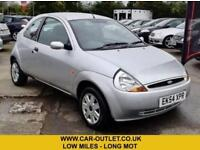 2004 FORD KA COLLECTION 1.3 VERY LOW MILES LONG MOT PETROL 3DR 69 BHP
